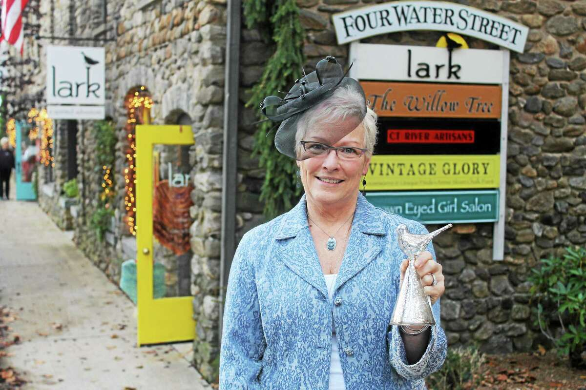 Suzie Woodward, owner of her new store Lark, has brought her spirited personality to Chester's Holiday Markets, which run Sundays through Dec. 21. She came up the themes, including bells, hats, snowmen and chocolate. Besides stores, restaurants and galleries, farmers market vendors will be there.