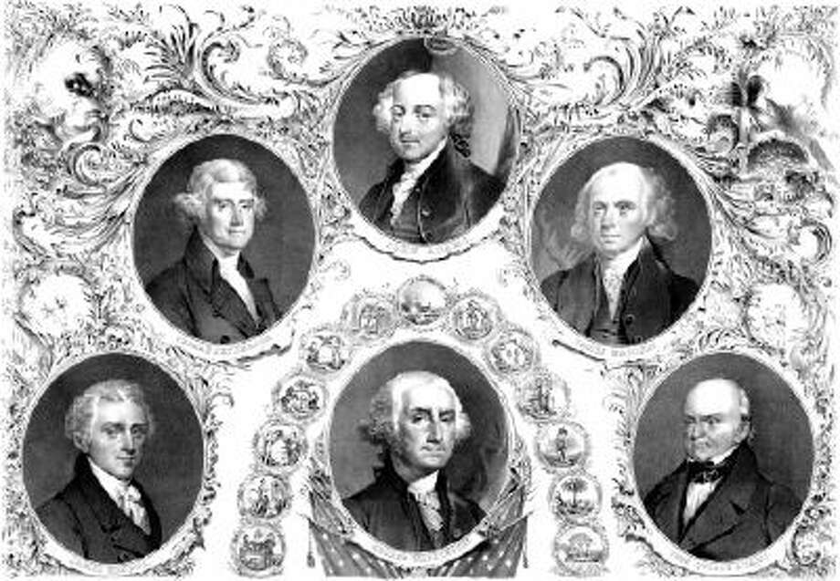 The first six US presidents are pictured here. Some of them are the most overlooked. Photo: Getty Images/Stocktrek Images / Stocktrek Images