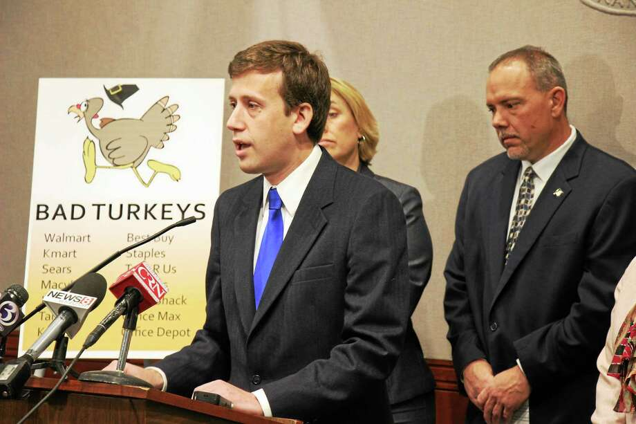For the third year, State Rep. Matthew Lesser is asking retailers to pay their employees overtime if they are asked to work on Thanksgiving Day. Photo: Courtesy Photo