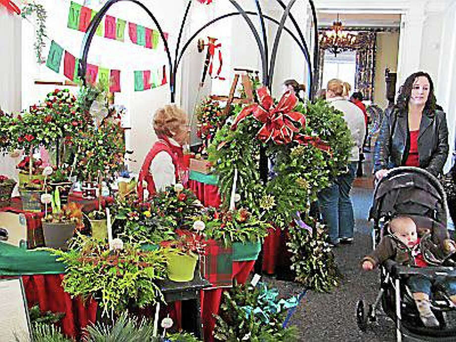 The Wadsworth Mansion at Long Hill Estate is hosting their annual Holiday Bazaar on Saturday December 6, 2015 from 10:00 a.m. until 3:00 p.m. at 421 Wadsworth Street, Middletown.  Children are free and a $2.00 donation for adults would be appreciated but, not expected.  Door donations will be dedicated to conservation projects at the Mansion.Twenty seven vendors who sell at the August Open Air Market will be selling their handmade products ideal for the discerning shopper who wants unique holiday gifts.  Hometown Bakery, a perennial favorite, will be selling their cardamom and cinnamon breads.   Cold Goats Farm will be selling their angora yarns as well as handmade mittens and hats.  Several jewelers will be tempting shoppers with silver, gold, crystals, and gemstones. The Middletown Garden Club will be selling wreathes and the Wadsworth Mansion will be offering a 24k gold plated ornament depicting the front elevation of the building.  Additional offerings include pottery, organic candles, and clothing.  If you are just looking for a lovely respite David Alan Catering will be serving lunch in the lounge.  For a complete listing of vendors, visit www.wadsworthmansion.com. Photo: Journal Register Co.