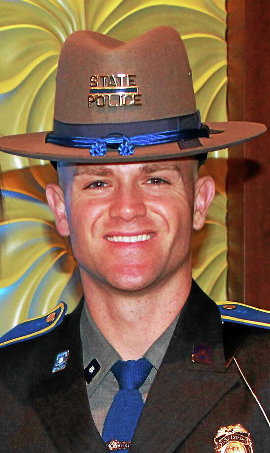 Submitted photo Troop F Trooper Tim Kendrick will be the new special duty assignments trooper in Durham beginning June 6. Photo: Journal Register Co.