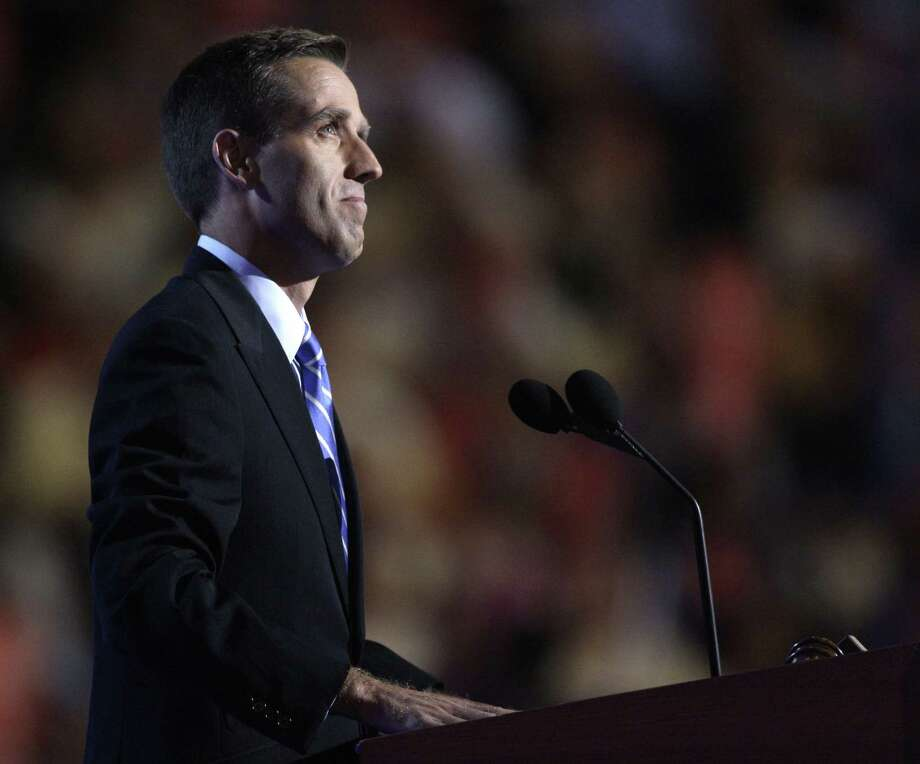 In this Aug. 27, 2008 photo, Delaware Attorney General Beau Biden, son of Democratic vice presidential candidate, Sen. Joe Biden, D-Del., introduces his father at the Democratic National Convention in Denver. On Saturday, May 30, 2015, Vice President Biden announced the death of son, Beau, from brain cancer. Photo: AP Photo/Paul Sancya  / AP