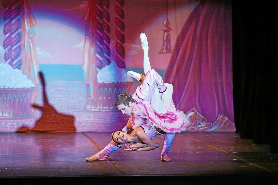 "Photos courtesy of Albano Ballet Company Dancers perform a scene from Albano Ballet Company's ""Nutcracker"" which is making appearances at several venues in Connecticut. Photo: Journal Register Co. / TAKAO KOMARU"