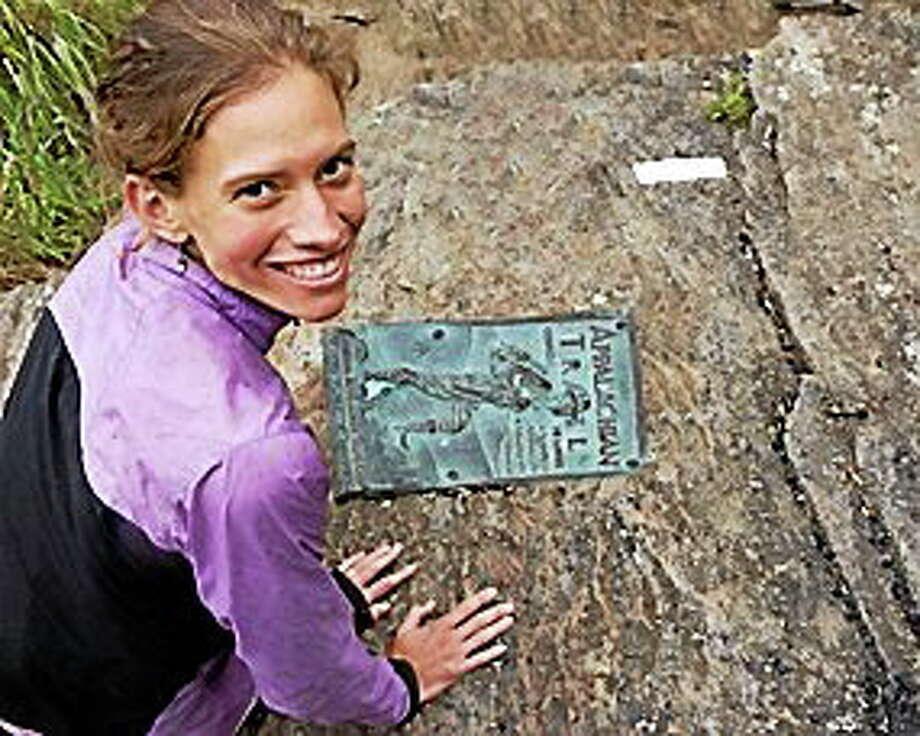 Courtesy photo  Adventurer, hiker and author Jennifer Pharr Davis will speak at Russell Library June 5 in Middletown. Photo: Journal Register Co.