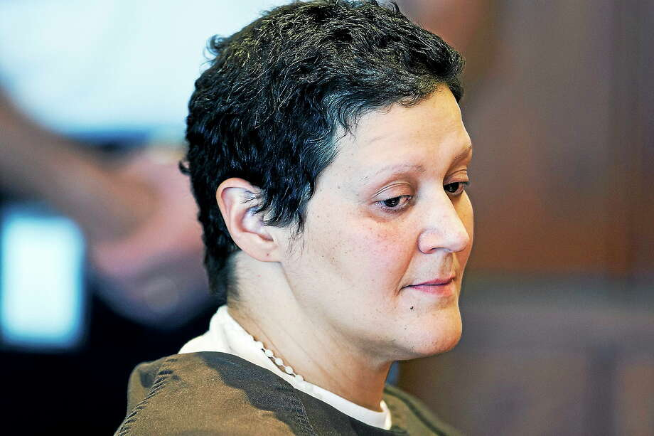 Tanya Singleton, cousin of former New England Patriots football player Aaron Hernandez, appears for a bail hearing at Superior Court on Oct. 24, 2103, in Fall River, Mass. Photo: Associated Press   / Pool, Pool Boston Herald