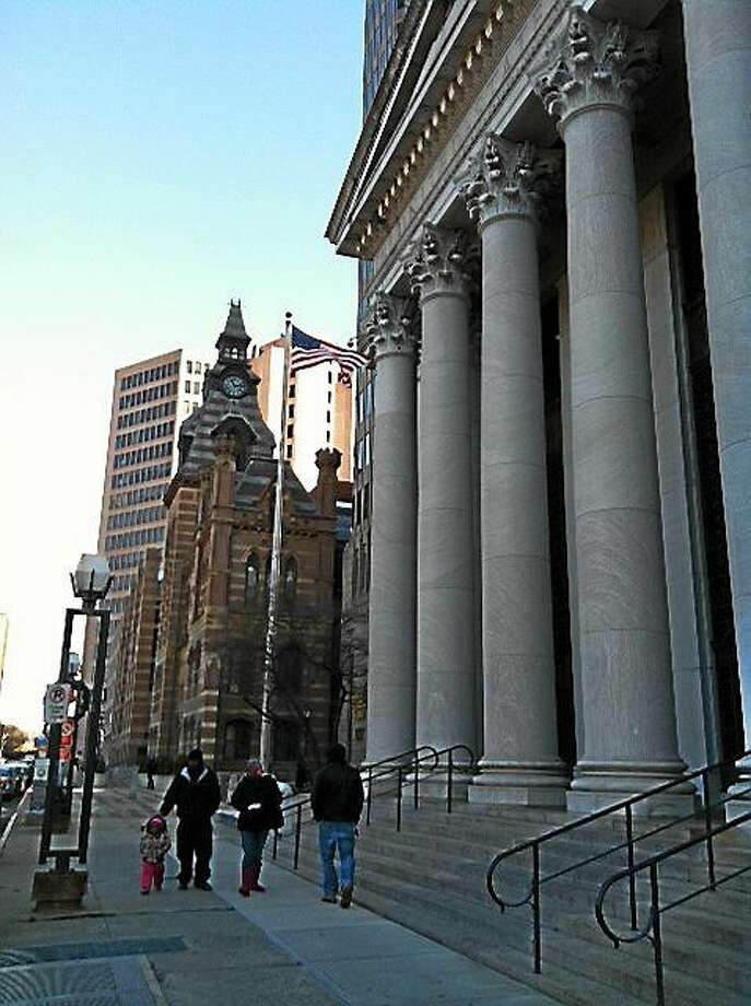 Federal court in New Haven Photo: File