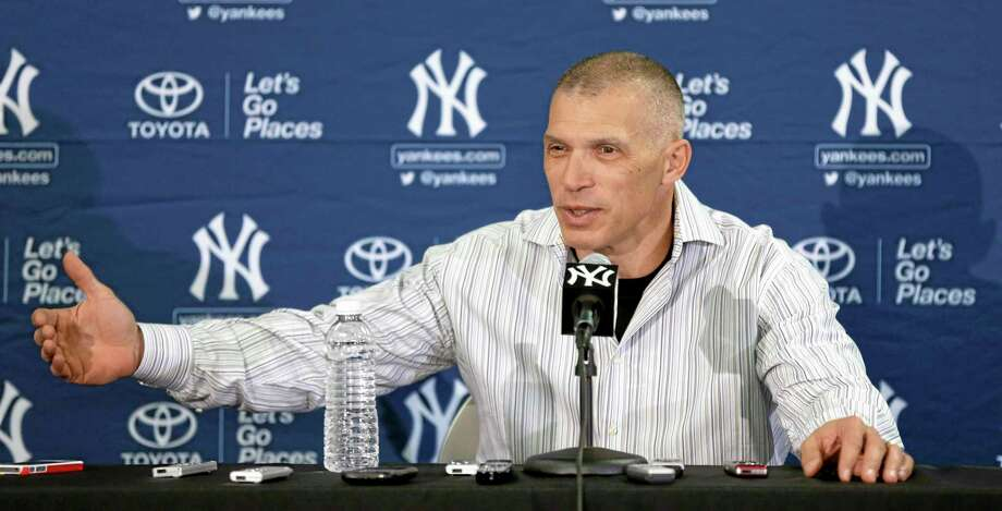 New York Yankees manager Joe Girardi speaks during a news conference following practice on Friday in Tampa, Fla. Photo: Charlie Neibergall — The Associated Press  / AP