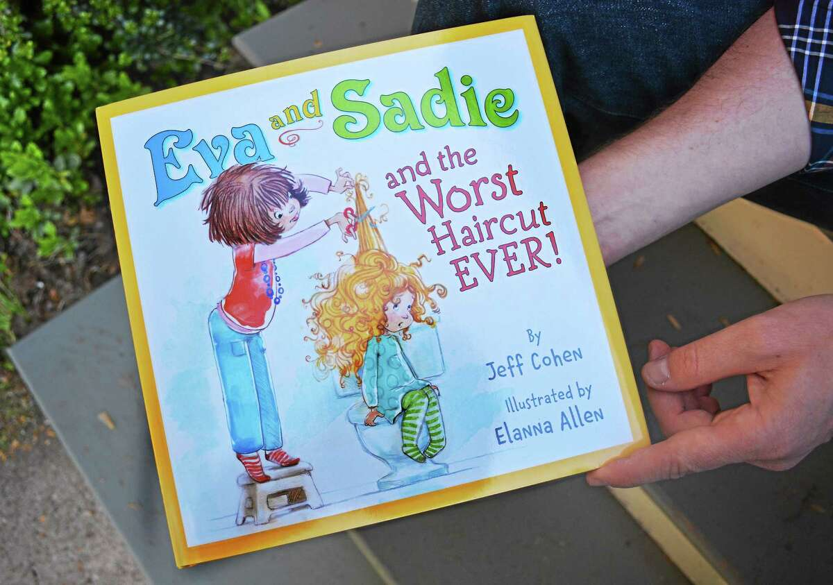 """Catherine Avalone — The Middletown Press A children's book, """"Eva and Sadie and the Worst Haircut EVER!"""" written by Middletown resident and WNPR 90.5-FM public radio journalist Jeff Cohen."""