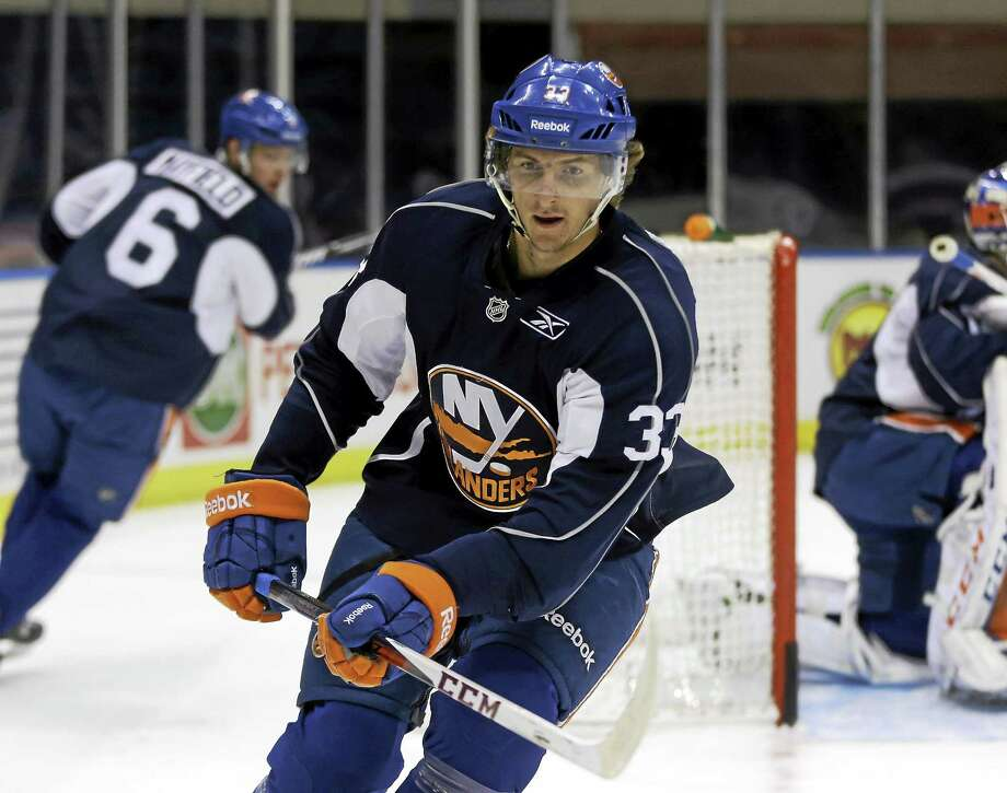The Vancouver Canucks acquired Andrey Pedan from the New York Islanders on Tuesday. Photo: Seth Wenig — The Associated Press File Photo  / AP