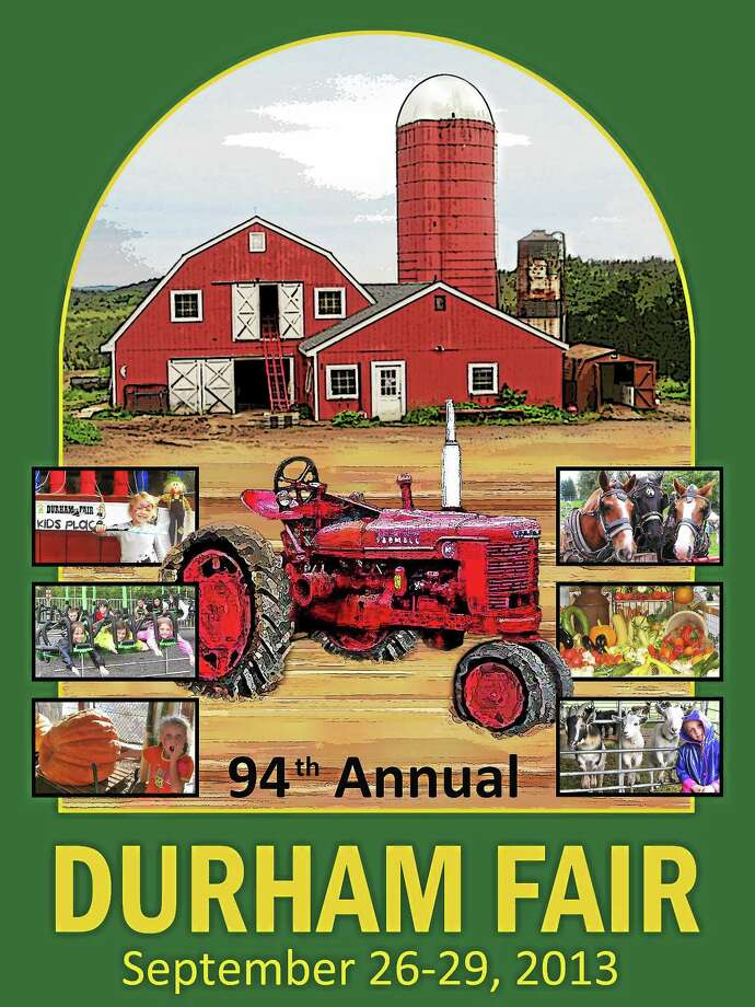 Submitted photo. Last year's Durham Fair poster contest winner was Susan Cummings, a longtime volunteer for the fair. Photo: Journal Register Co.