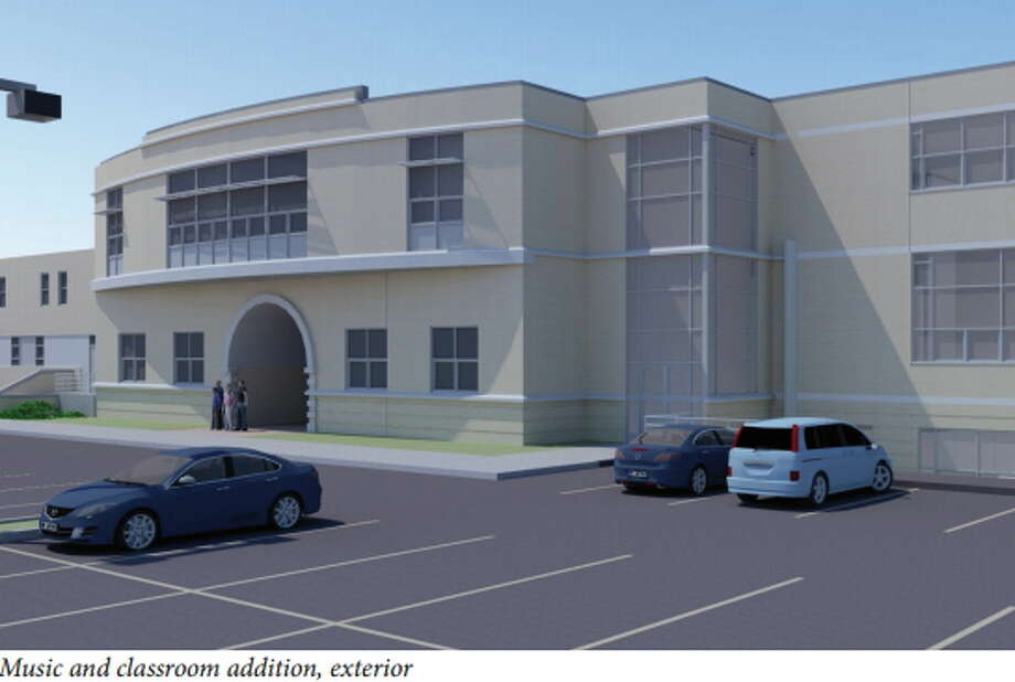 Submitted photo Xavier High School recieved a grant for its arts center expansion. Photo: Journal Register Co.