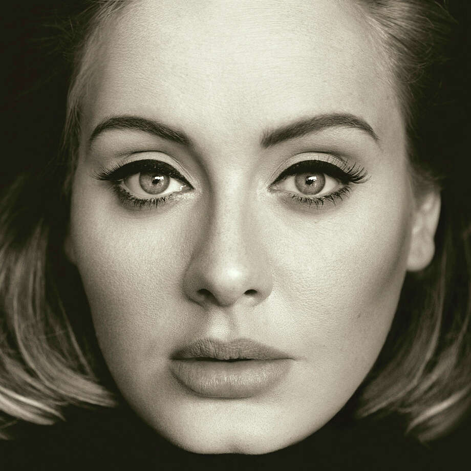 "This CD cover image released by Columbia Records shows, ""25,"" the latest release by Adele. Photo: Columbia Records Via AP  / Columbia Records"
