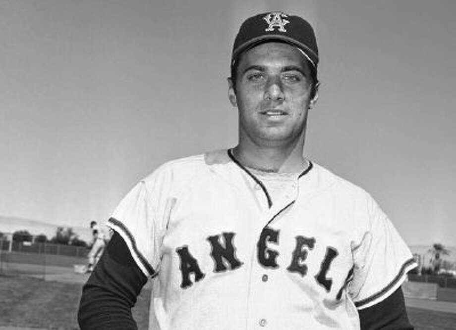 This March 1968 file photo shows Jim Fregosi of the California Angels in Palm Springs, Calif. Fregosi, a former All-Star who won more than 1,000 games as a manager for four teams, has died after an apparent stroke. He was 71.