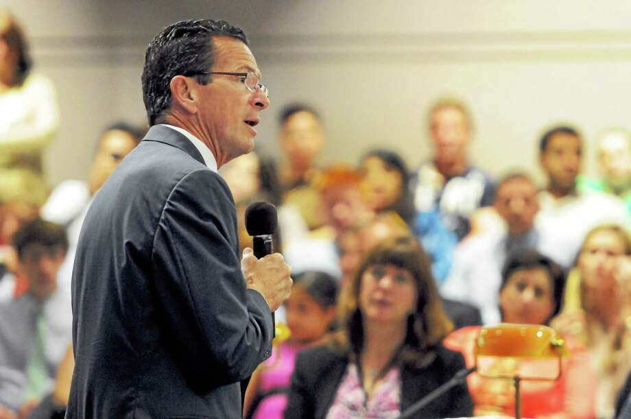 Connecticut Governor Dannel P. Malloy speaks during a Connecticut Commission on Children program at the Legislative Office Building in Hartford, Connecticut. Photo: Peter Hvizdak -- New Haven Register/file Photo  / ©Peter Hvizdak /  New Haven Register