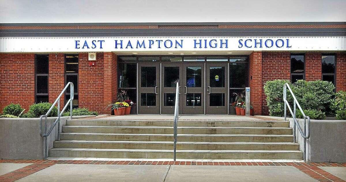 Renovations of the aging East Hampton High School have begun in earnest.
