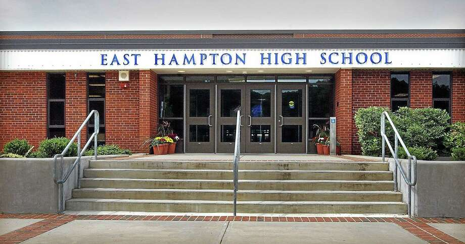 Renovations of the aging East Hampton High School have begun in earnest. Photo: File Photo