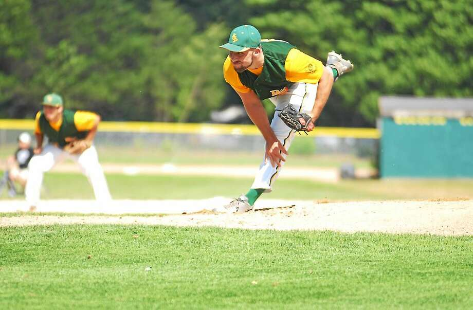 Photo by Jimmy Zanor —Middletown Press Tommy Seaver will get the start in Game 1 of the American Legion State Championship series tonight at Palmer Field against Stamford. Photo: Journal Register Co.