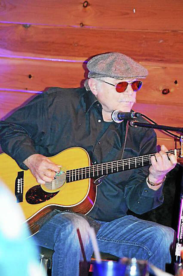 Photo by Dom ForcellaRon Anthony plays at the Evening of Acoustic Blues Saturday. Photo: Journal Register Co.