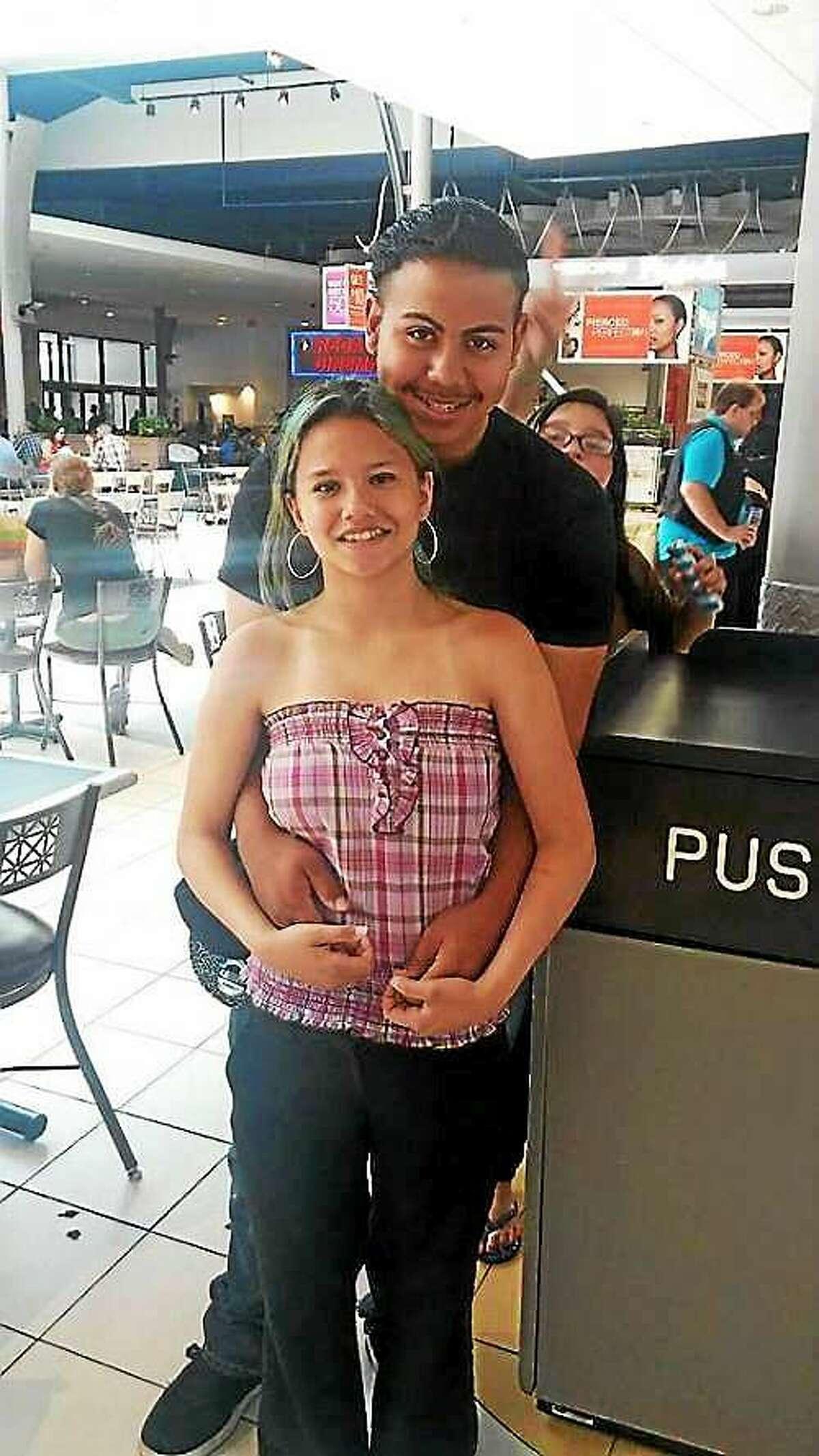 Alyssa Viveiros with boyfriend Vancasey Cuevas