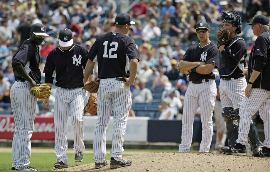 The New York Yankees are valued at $3.2 billion, according to Forbes. Photo: Kathy Willens — The Associated Press  / AP