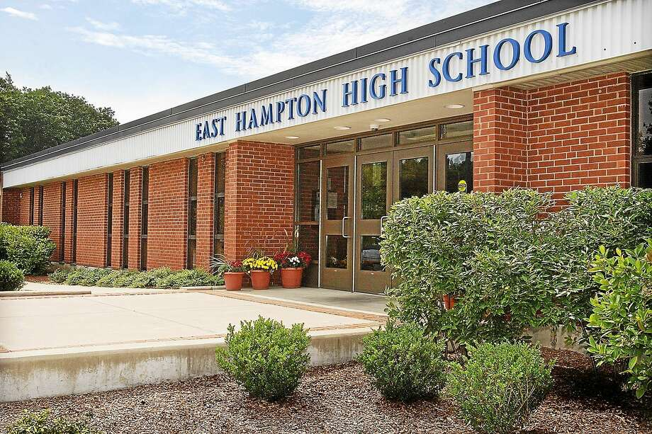 File The East Hampton High School Building Committee delivered some long-anticipated good news this week. Photo: Journal Register Co.
