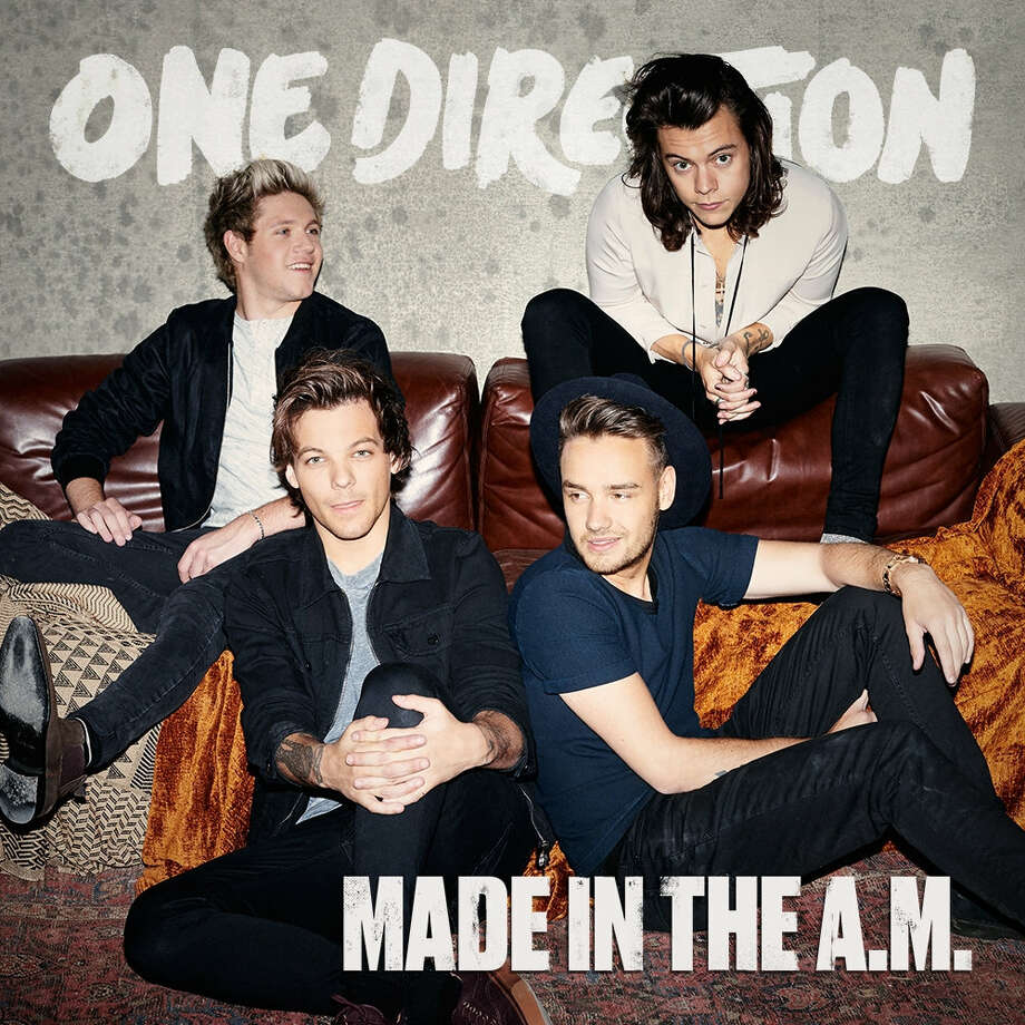 """This CD cover image released by Syco shows """"Made in the A.M."""" a new release by One Direction. Photo: Syco Via AP  / Syco"""