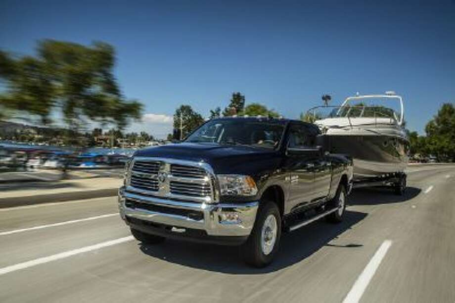 The Multi-Displacement System/Fuel Saver Technology allows the Ram 3500 Big Horn to operate with four cylinders at low speeds and under light loads but a full eight-cylinder power at higher speeds and with heavy loads.