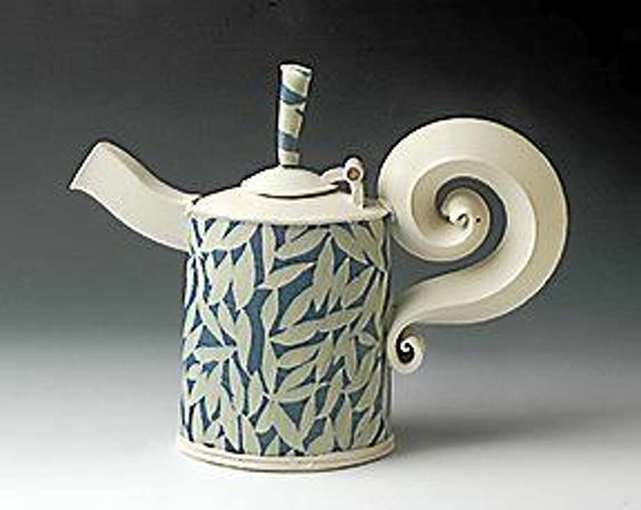 H. Bayless, Teapot, Wesleyan Potters. Photo: Journal Register Co.
