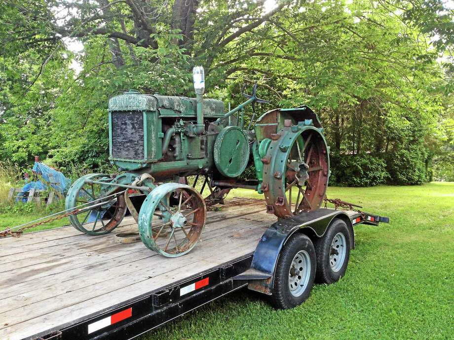 Henry Sagan's 1930 John Deere tractor has been donated to the Durham - Christmas Tree Farm Owner Wills Vintage John Deere To Durham Fair