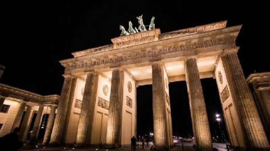The Brandenburg Gate, Berlin.