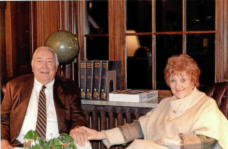 45-year Middletown residents LeRoy Dyer, left, and his wife Joan Kapitzke Dyer have both written memoirs. Photo: Courtesy Photos