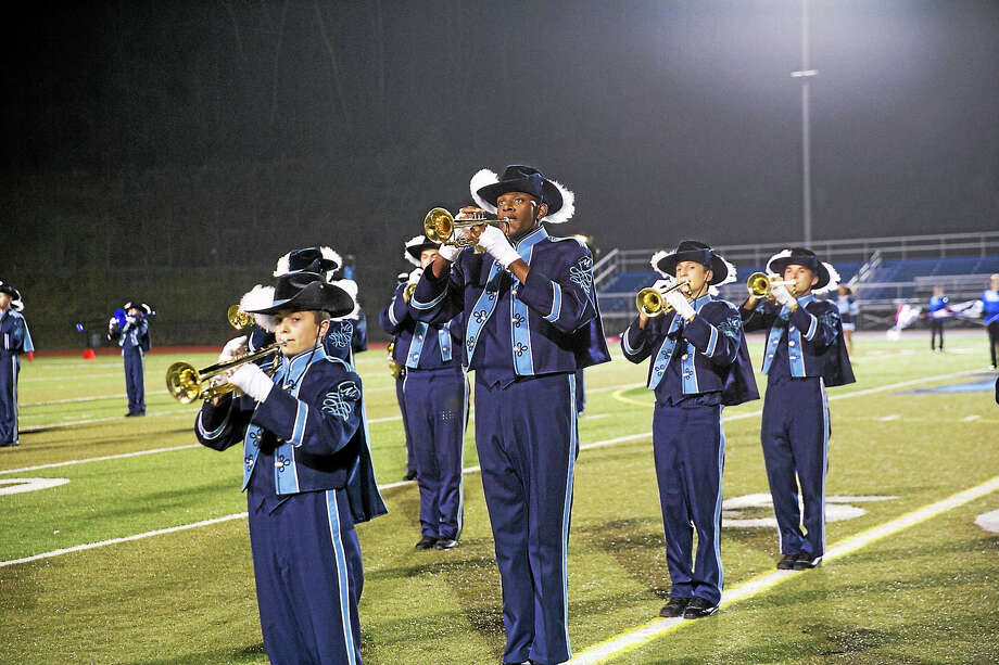 The Middletown High School marching band took top prize in a state-wide musical competition Oct. 31, beating out more than 100 bands. Photo: Courtesy Photo