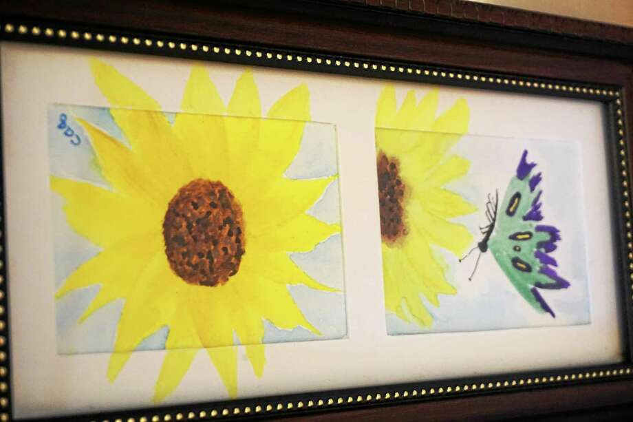 Cynthia Quinn is the Essex Library's artist of the month for August. Photo: Journal Register Co.
