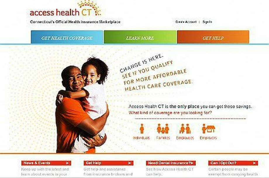Access Health CT website Photo: Journal Register Co.