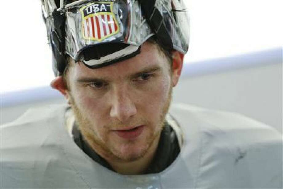 USA goaltender Jonathan Quick will get the first start against Slovenia on Thursday. Photo: AP / AP