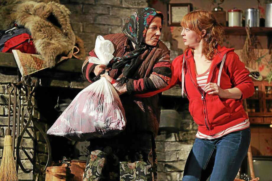 Photographs courtesy of the Yale Repertory Theater Felicity Jones and Emily Walton in The Fairytale Lives of Russian Girls. Photo © Joan Marcus, 2014. Photo: Journal Register Co. / ©2014, JOAN MARCUS