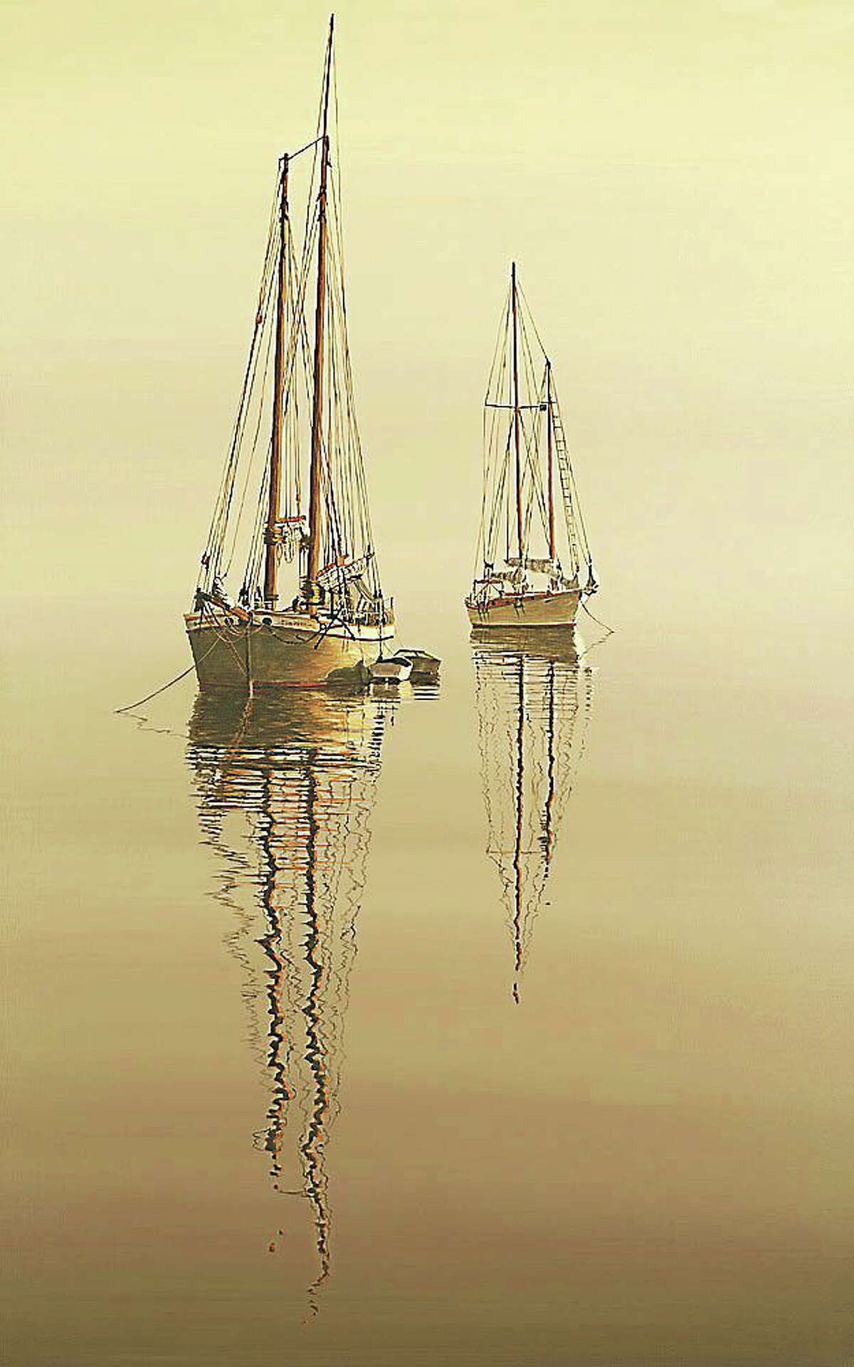 Image courtesy of Jeffrey Sabol Paintings by by Jeffrey Sabol are on display at the Acton Library.
