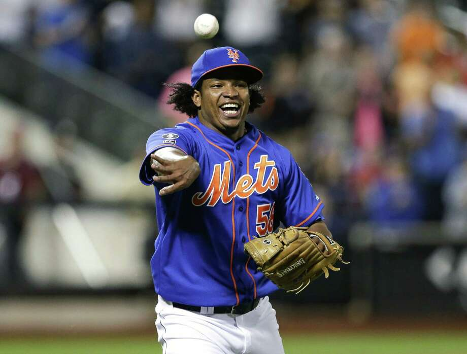 New York Mets relief pitcher Jenrry Mejia, just back from an 80-game drug suspension, has been banned for an additional 162 games following a positive test for Stanozolol and Boldenone. Photo: Frank Franklin II — The Associated Press File Photo  / AP