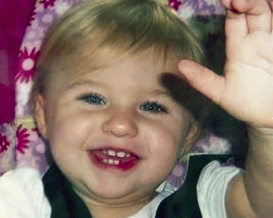 FILE - This undated file photo provided by Trista Reynolds shows Ayla Reynolds, her two-year-old daughter, who went missing on Dec. 16, 2011 from her father's home in Waterville, Maine. Three years after Ayla's disappearance, her mother Trista Reynolds wants prosecutors to bring lesser charges if they canít prove a homicide. Maine has no statute of limitations for homicide and thereís a six-year limit for other felonies. But the limit is only three years on lesser charges. (AP Photo/Trista Reynolds, File) Photo: AP / Trista Reynolds