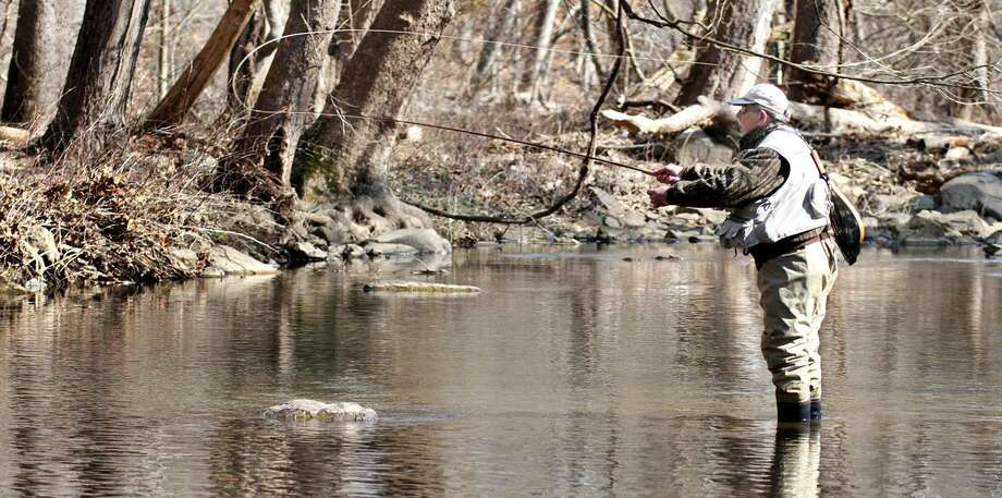 Fly fishing is a very popular sport in Connecticut. Photo: File Photo