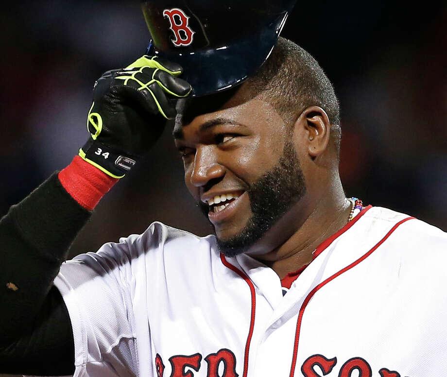 Boston Red Sox designated hitter David Ortiz says he will retire after 2016 season. Photo: Elise Amendola — The Associated Press File Photo  / AP