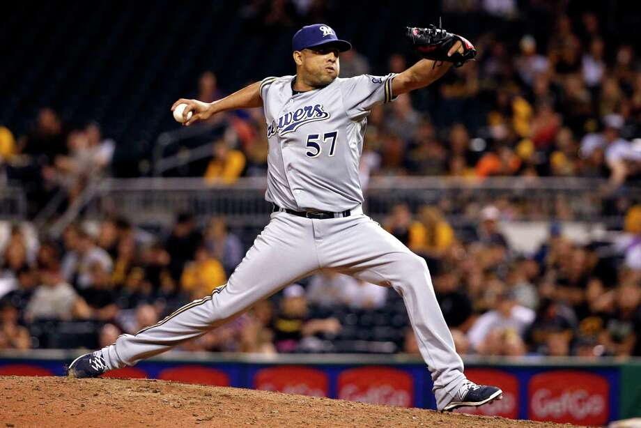 The Detroit Tigers have acquired right-hander Francisco Rodriguez from the Brewers in their latest attempt to stabilize the back end of their bullpen. Photo: Gene J. Puskar — The Associated Press File Photo  / AP