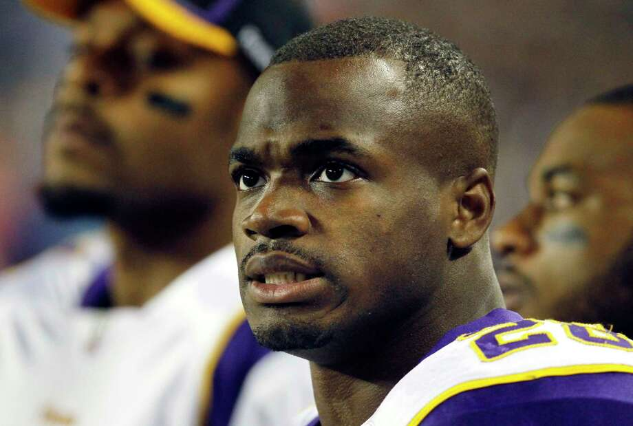 The NFL will hear Adrian Peterson's appeal on Dec. 2. Photo: Charles Rex Arbogast — The Associated Press File Photo  / AP