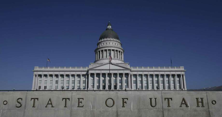 "FILE - In this Jan. 26, 2015, file photo, shows the Utah State Capitol, in Salt Lake City. Utah became the only state to allow firing squads for executions Monday, March 23, 2015, when Gov. Gary Herbert signed a law approving the controversial method's use when no lethal-injection drugs are available. Herbert has said he finds the firing squad ""a little bit gruesome,"" but Utah is a capital punishment state and needs a backup execution method in case a shortage of the drugs persists. Photo: (AP Photo/Rick Bowmer, File) / AP"