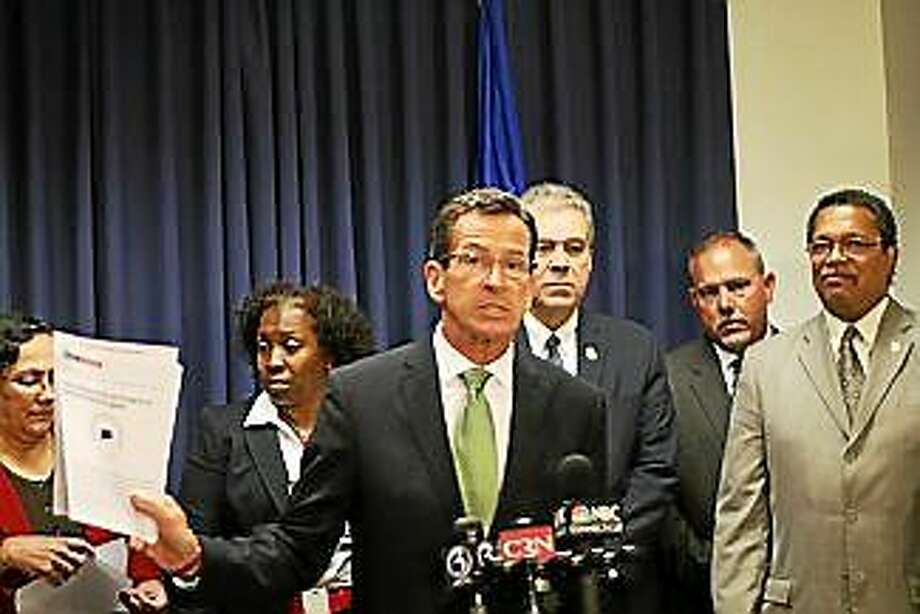 Malloy during the gubernatorial campaign Photo: Journal Register Co.