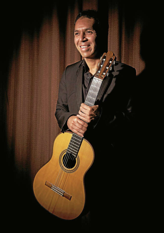 Contributed photoClassical guitarist Jorge Caballero performs Nov. 29 at the Chester Meeting House. Tickets are available through CollomoreConcerts.org. Photo: Journal Register Co.