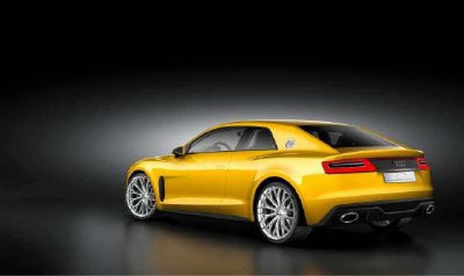 The Audi Sport Quattro concept.