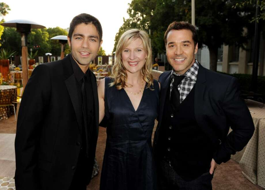 "LOS ANGELES, CA - JUNE 16:  (L-R) Actor Adrian Grenier, HBO's Sue Naegle and actor Jeremy Piven arrive at the premiere of HBO's ""Entourage"" season 7 at Paramount Studios on June 16, 2010 in Los Angeles, California.  (Photo by Kevin Winter/Getty Images) *** Local Caption *** Adrian Grenier;Jeremy Piven;Sue Naegle Photo: Kevin Winter, Getty Images / 2010 Getty Images"