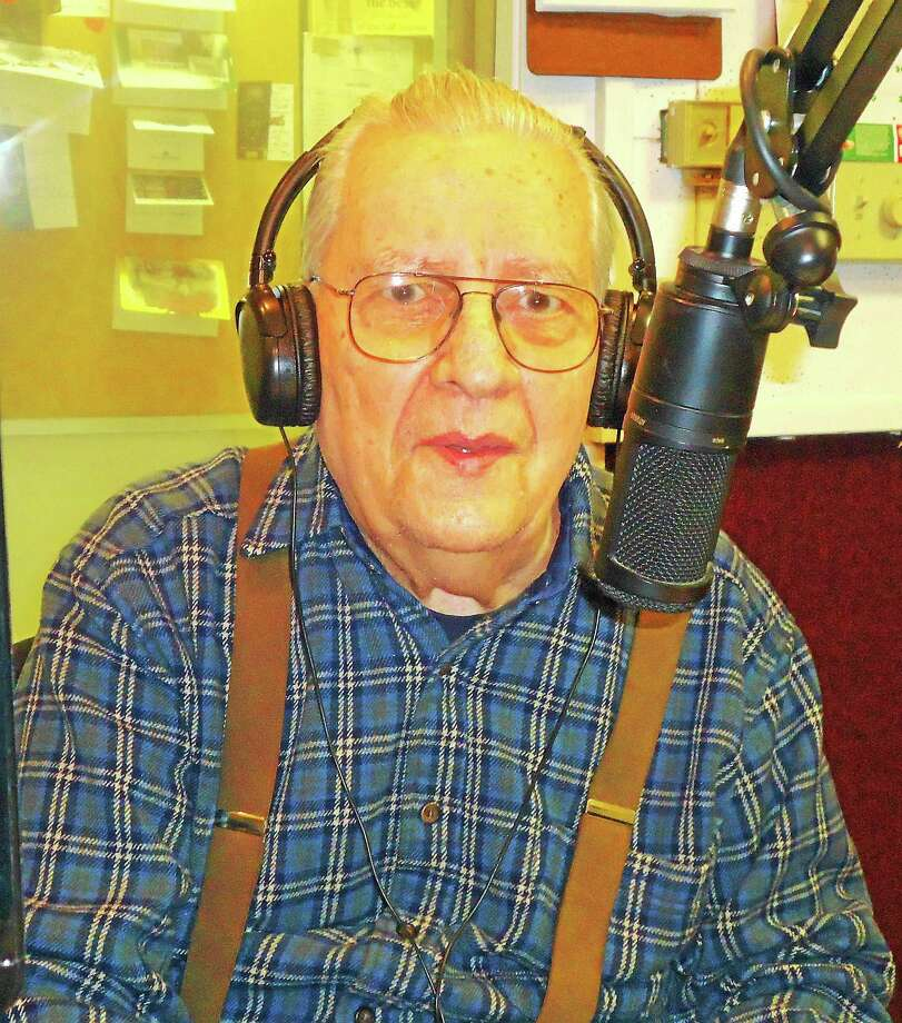 """Broadcaster and Middletown native <a href=""""http://www.middletownpress.com/general-news/20150722/connecticut-radio-legend-ed-henry-remembered-as-unique-remarkable"""">Ed Henry died July 18</a> at the age of 88. For 65 years, he hosted The Polish Melodies Show"""" at the studios of WMRD-AM radio. Photo: Courtesy Don DeCesare"""
