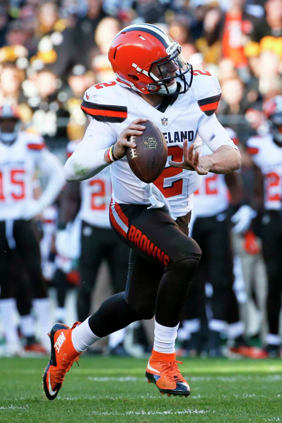 Cleveland Browns quarterback Johnny Manziel will be the starter for the rest of the season.